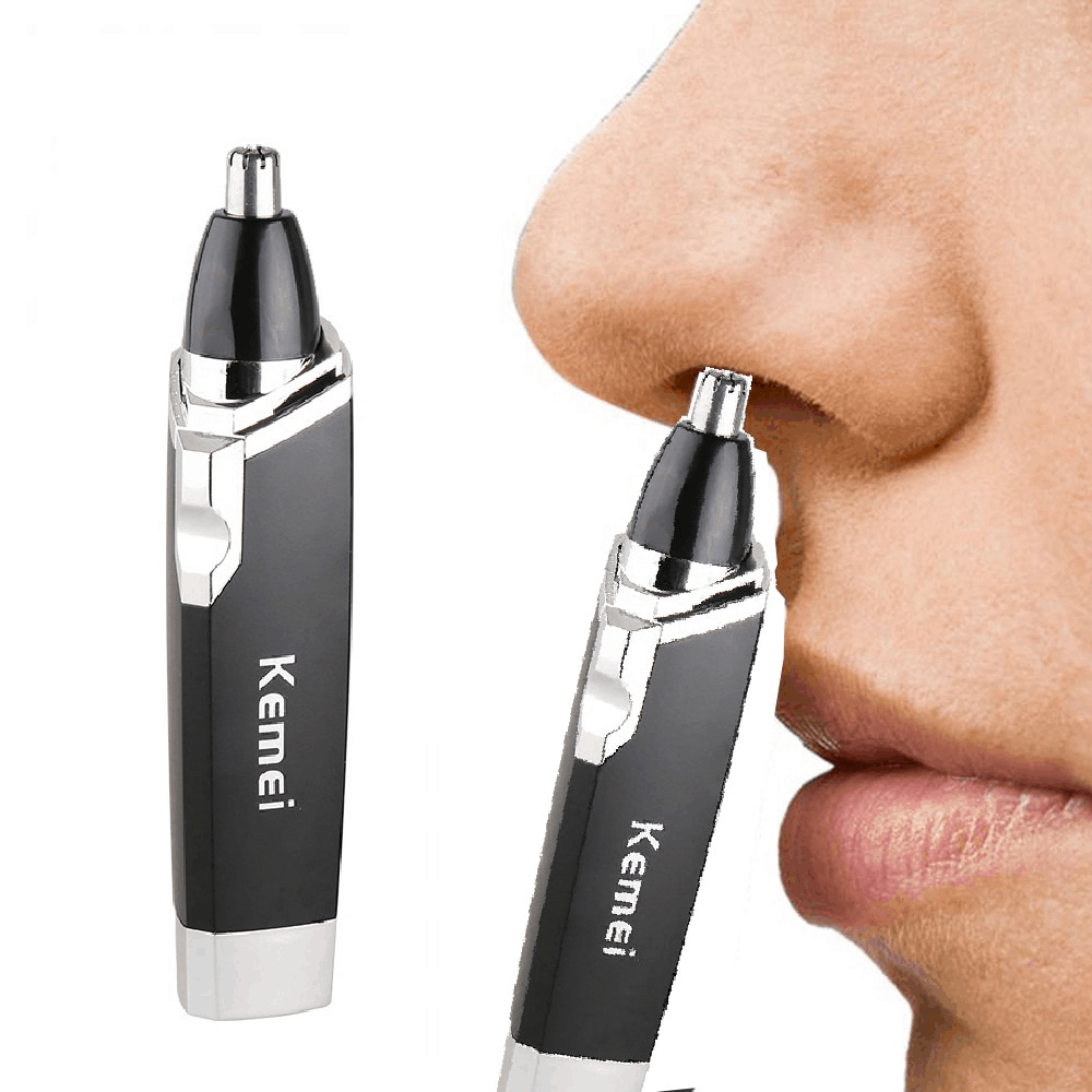 Kemei KM-6512 Nose Hair Trimmer is Top 5 Nose Hair Trimmer in Singapore