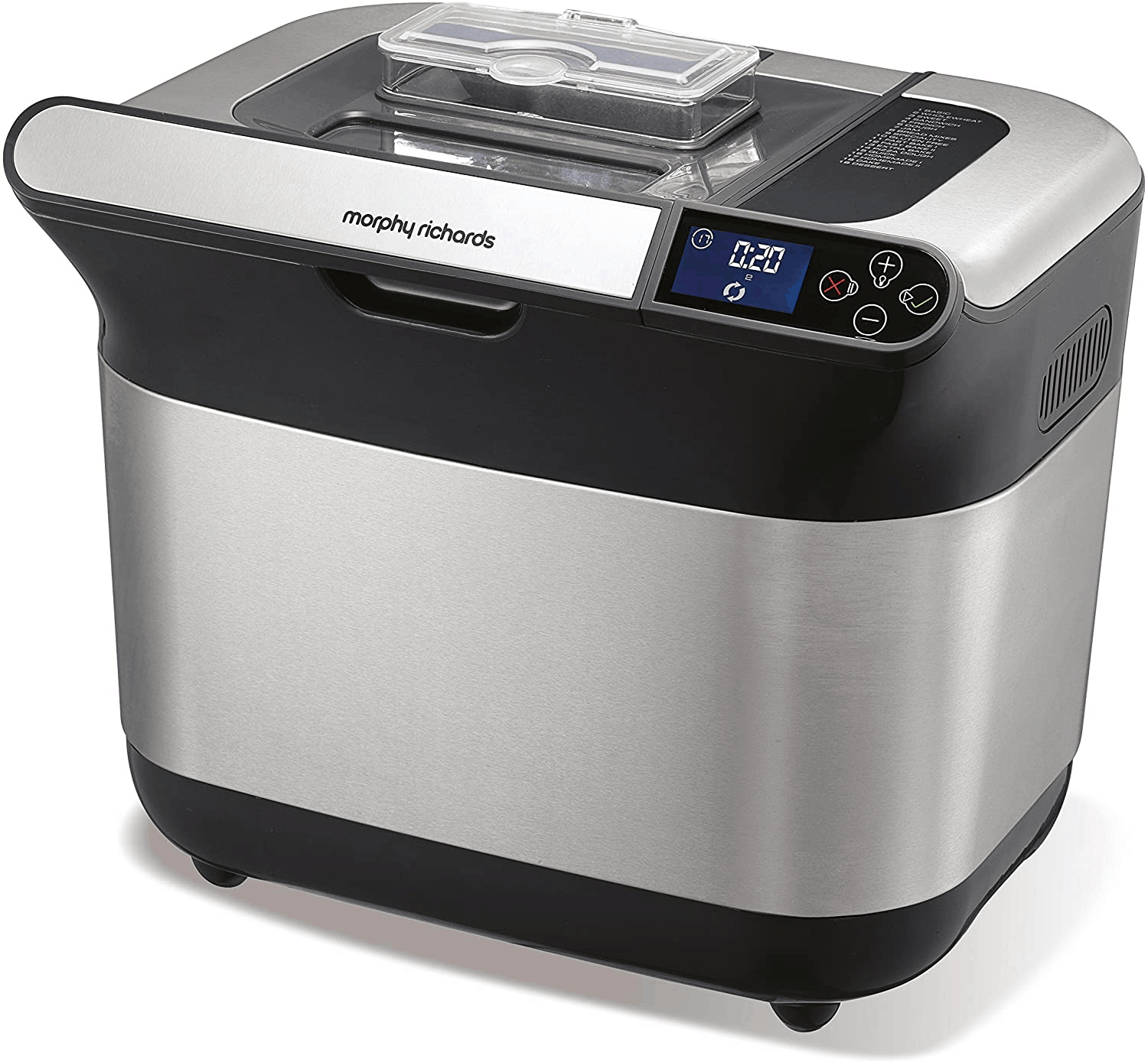 Morphy Richards Premium Plus Bread Maker Stainless Steel 48319 bread maker review singapore