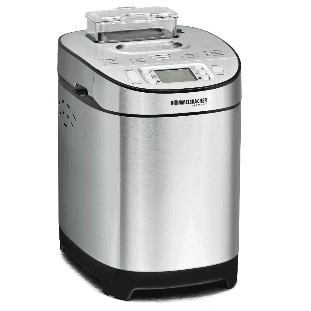 Rommelsbacher BA550 Breadmaker. You can buy a bread maker from retail shops such as harvey norman, best denki, courts, gain city or from online marketplaces such as shopee, amazon singapore, lazada, qoo. Some neighbourhood electronic shops also carry the product.