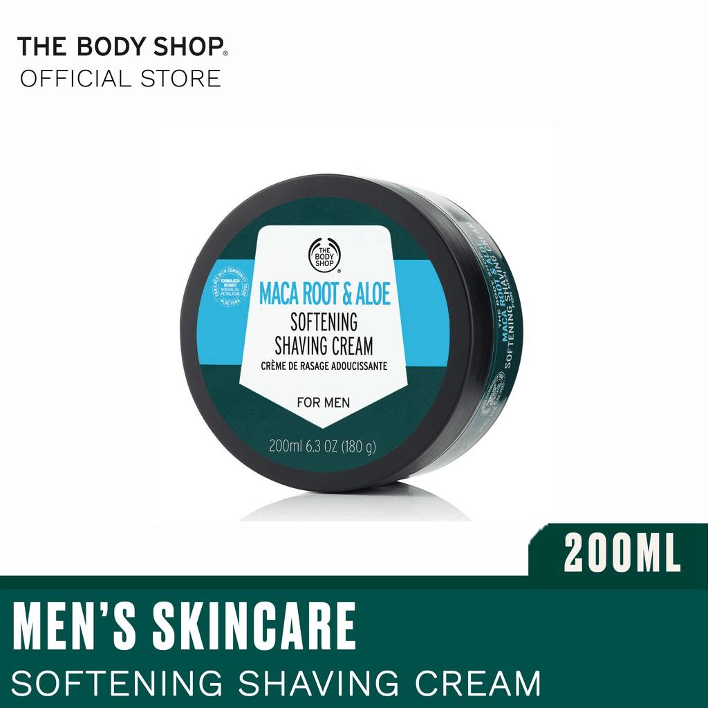 The Body Shop Maca Root & Aloe Shaving Cream is the Best Shaving Creams and Shaving Gels
