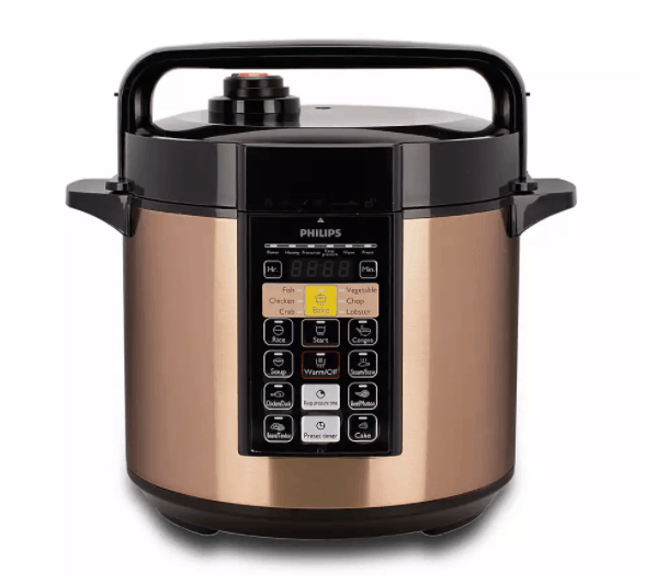 Philips Viva Collection ME Computerized Electric Pressure Cooker - HD2139 is best rice cooker for small family. fast and efficient
