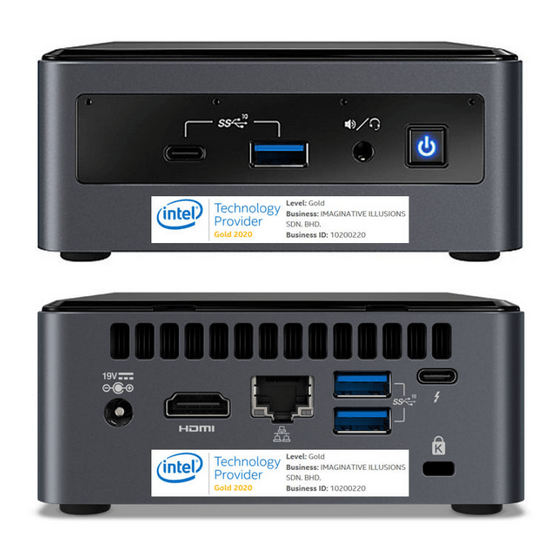Intel NUC Kit 10 best mini pc singapore