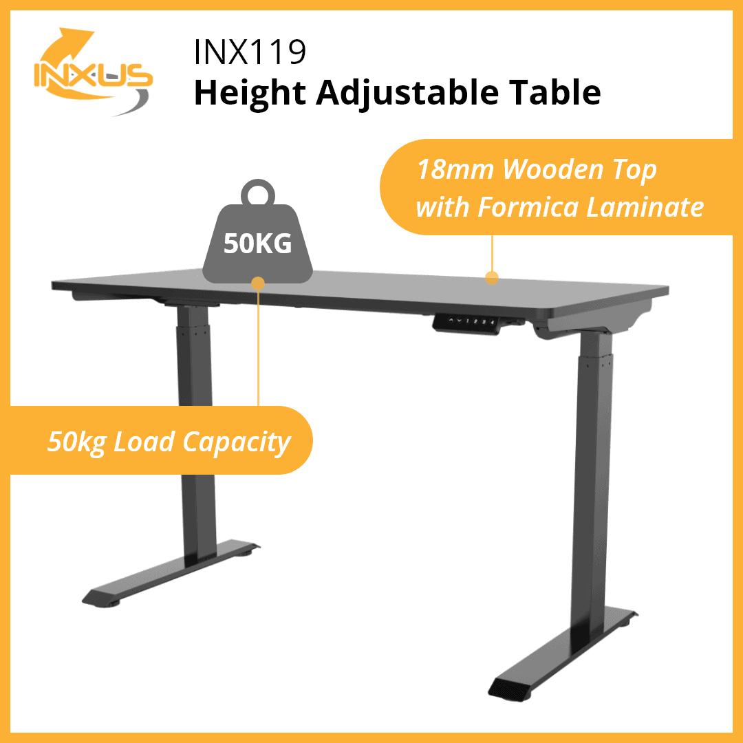 INXUS INX119 Height Adjustable Table