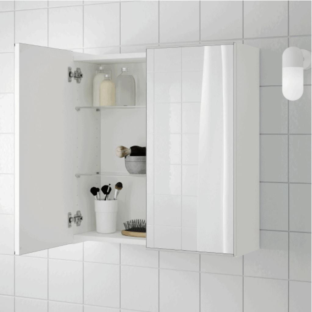 Lillangen 2 door mirror cabinet