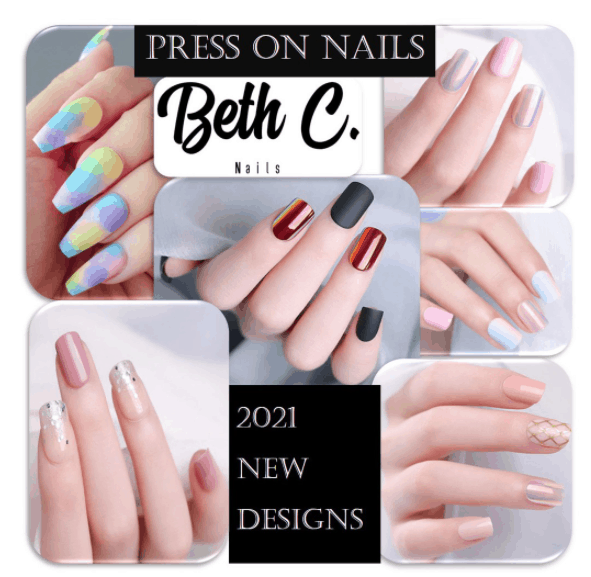 Square Nail Art Press On Nails is New Nail Wrap Designs This Year