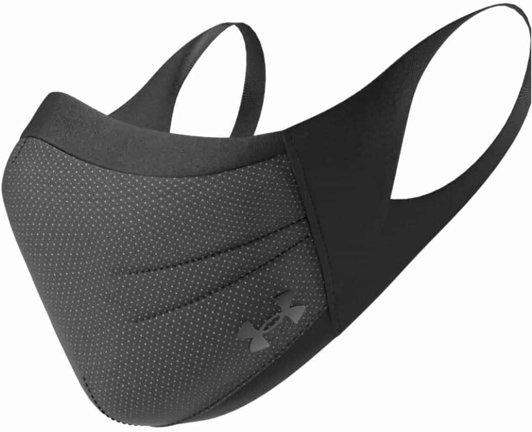 Under Armour Adult Sports Mask is top 10 Activewear Face Mask/ Sports Mask Singaporeans like, Best Face Masks For Running gym 2021 2022 2023 during covid 19 fmco heighten period, this is a facemask made for athletes - with better airflow, a cool feel, a comfortable fit and rain rolls right off it you wont feel breathless wearing this to walk.