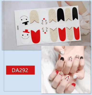 Waterproof Non-Toxic Nail Sticker 10 Places To Get Nail Stickers In Singapore Including cute unique designs, safe nail art