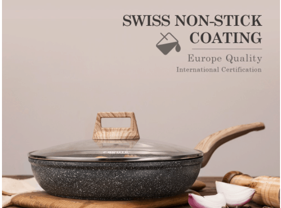 Best Non-Stick Frying Pans in Singapore Carote Frying Pan with Swiss Non-Stick Coating