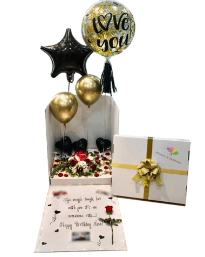 Blooms & Balloons is the 10 best balloon delivery services in singapore for stunning party decorations