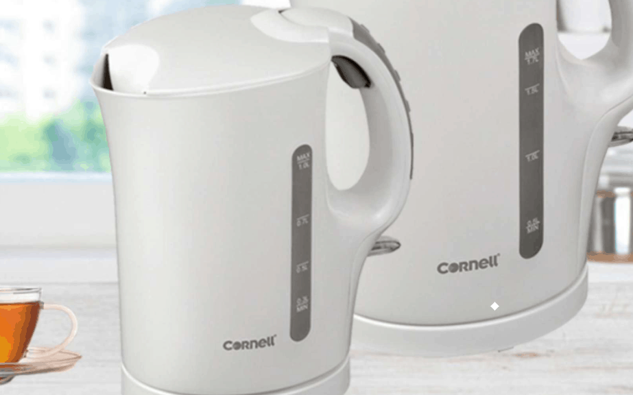 Cornell CJKS10L 1L Electric Jug Kettle is the best budget kettle