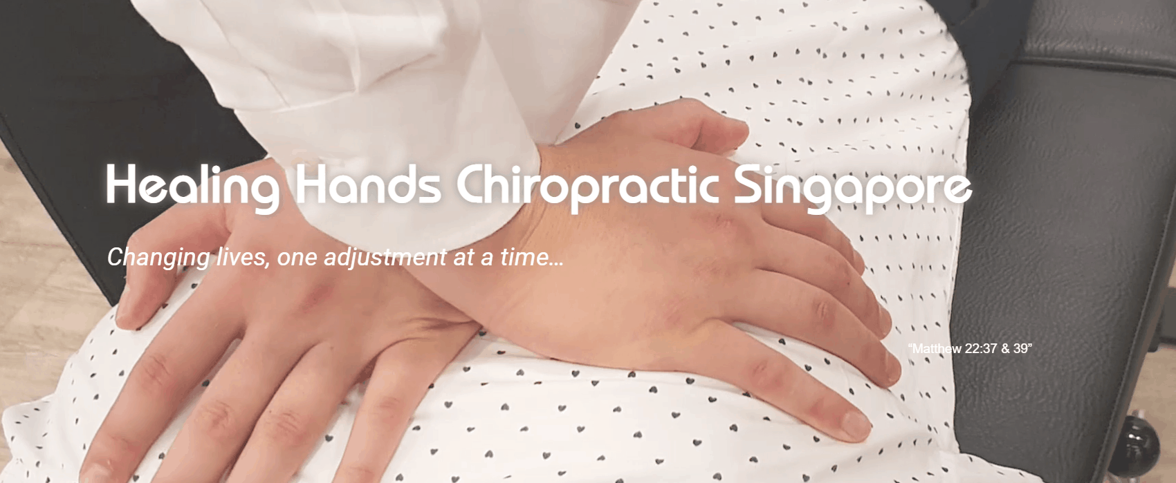 Healing Hands Chiropractic is top 10 Chiropractors In Singapore For Office Workers With Body aches