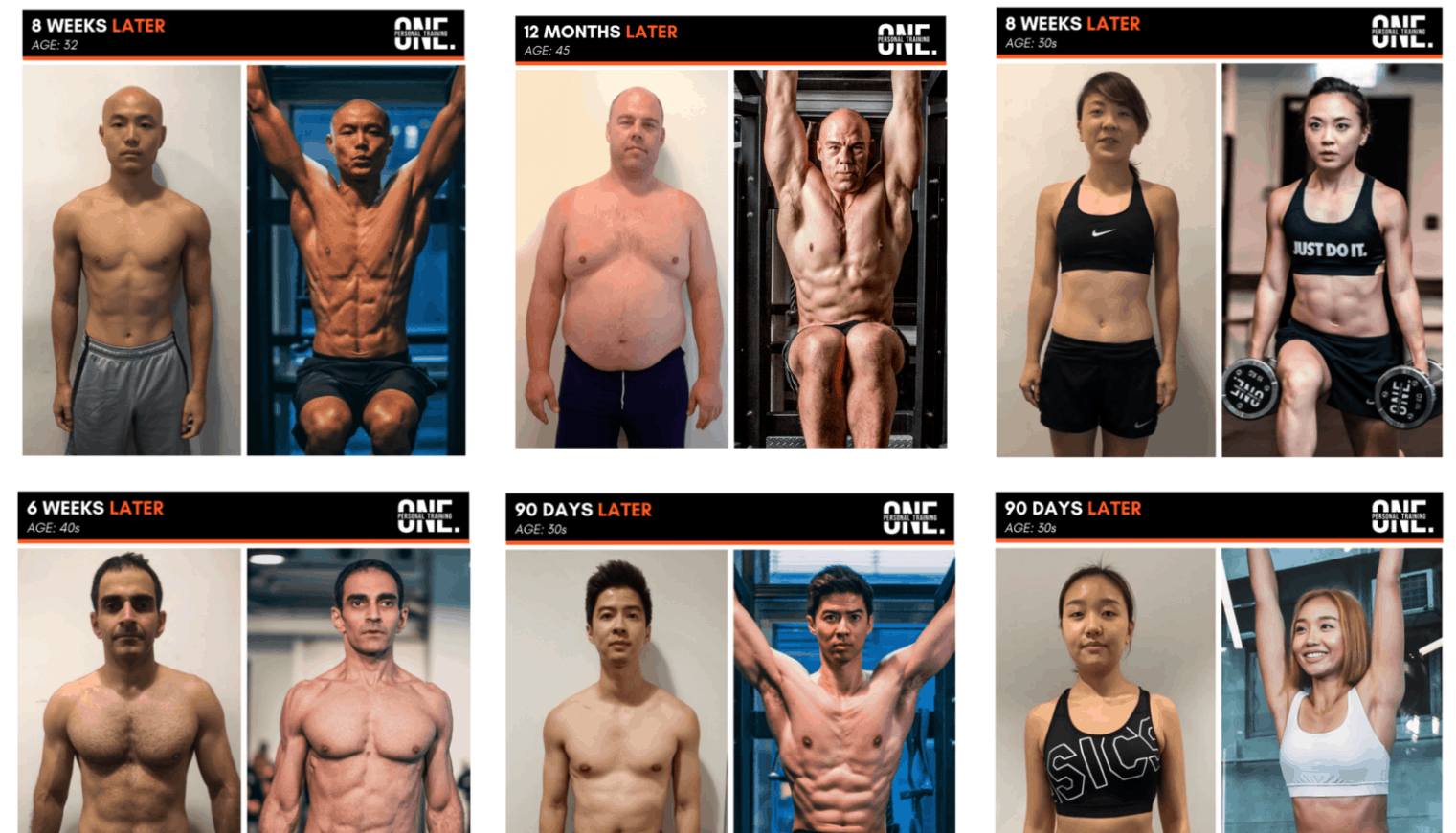 One Personal Training is Top 10 Best Freelance Personal Trainers in Singapore