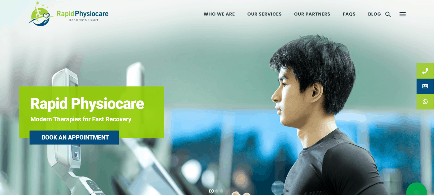 Rapid Physiotherapy Singapore is Best Physiotherapy and Sports Injury Clinic in Singapore
