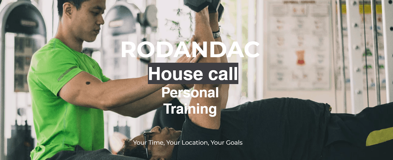 Rodandac Home Personal Trainers Freelance Personal Trainer & Fitness Coach in Singapore
