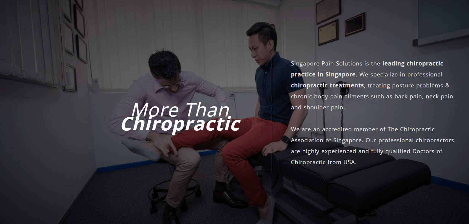 Singapore Pain Solutions is The Ultimate Guide To Seeing A Chiropractor in Singapore