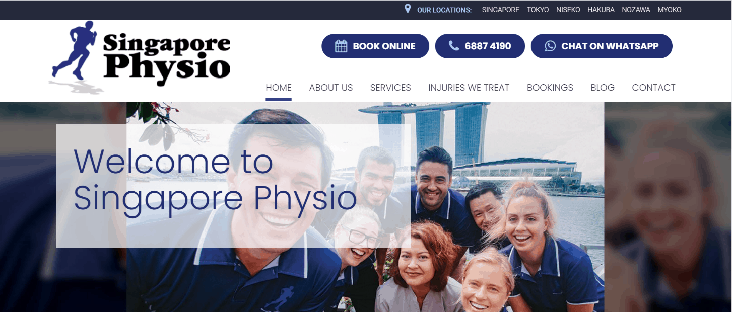 Singapore Physio is Your Trusted Physiotherapists in Singapore