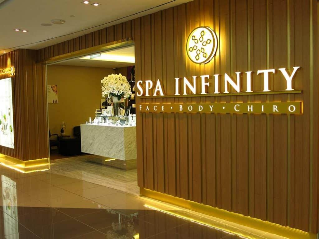 Spa Infinity Top Spas in Singapore