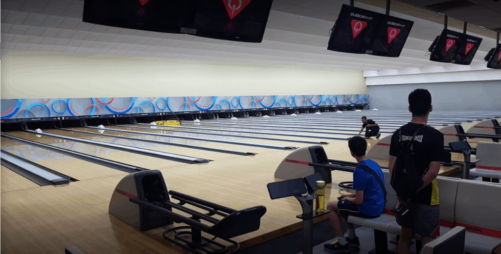 Star Bowl is Singapore's best ten pin bowling alley