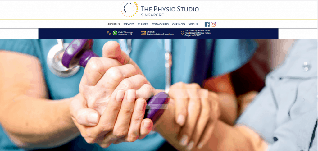The Physio Studio Singapore is Top 10 must-visit Physiotherapy Clinics in Town
