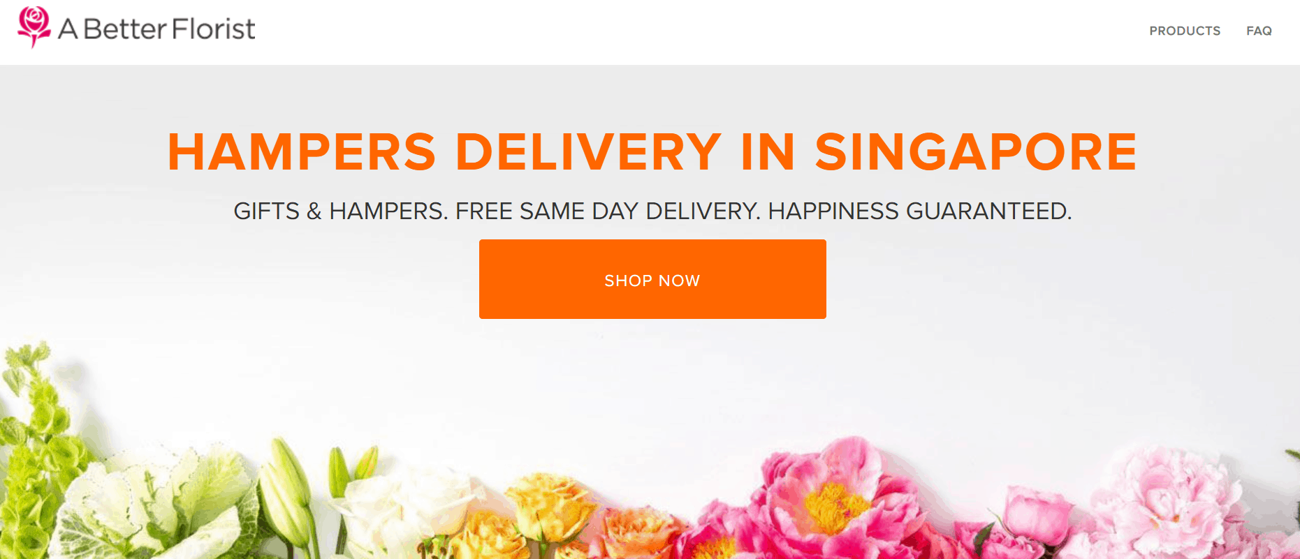 A Better Florist Hamper and flowers is the best gift from Singapore