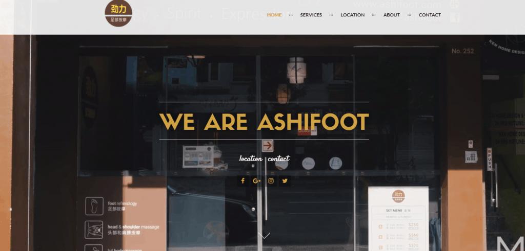 Ashi Foot Reflexology Massage promotion Singapore this year