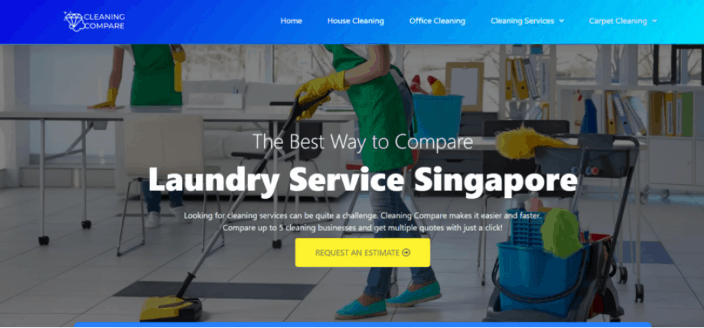 Cleaning Compare is a Quality Laundry Service in Singapore