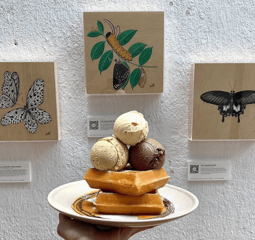 Creamier Handcrafted Ice Cream & Coffee is the 10 Top Cafes in Tiong Bahru That'll Push All Other Neighbours Aside