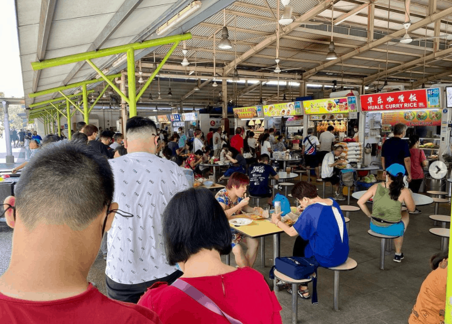 Ghim Moh Food Centre has the best food to eat in Singapore?