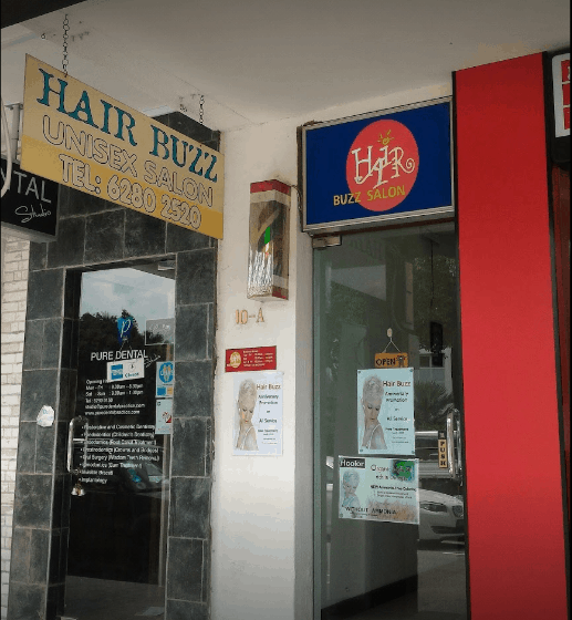 Hair Buzz Salon is  top10 Budget Hair Salons In Singapore That Charge Even Less than $10