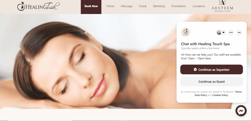 Healing Touch Spa is 10 best massage parlor in Singapore that we absolutely love