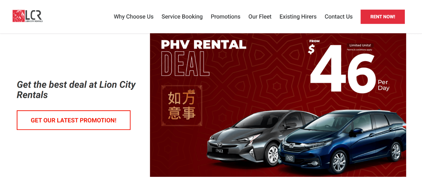 Lion City Rentals is 10 Best Cheap Car Rental Services in Singapore this year