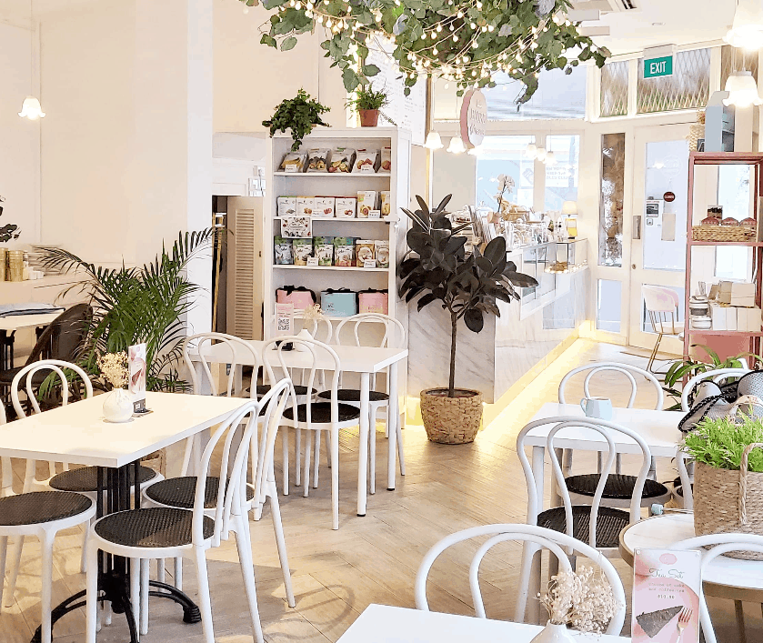 Little House of Dreams is the Top Cafes In Tiong Bahru the Best Cafes In Central Singapore