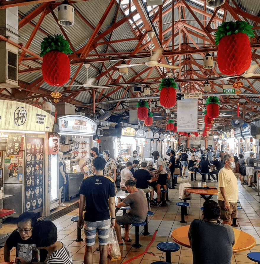 Maxwell Road Hawker Centre is 10 Must-Try Hawker Centres in Singapore