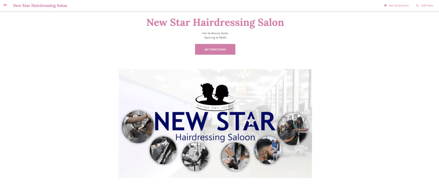 New Star Hairdressing Saloon is Best & Affordable Neighbourhood Hair Salons