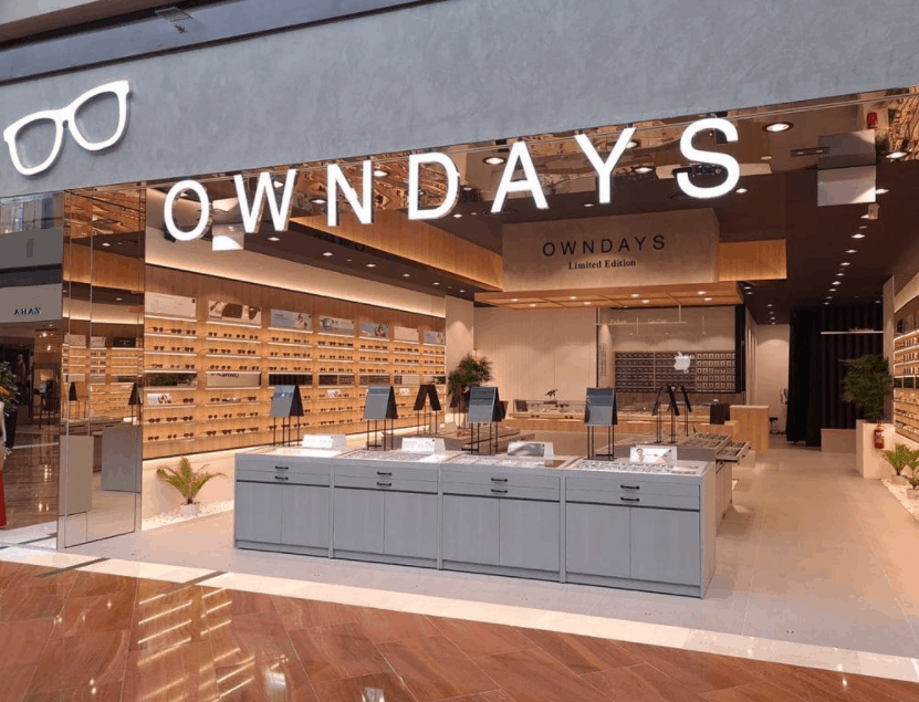 Owndays is The 10 Best Optical Shops in Singapore