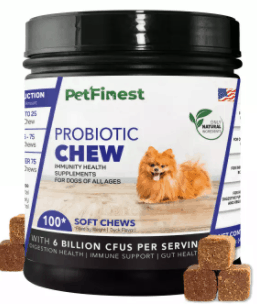 PetFinest Probiotics Chew for Dogs are the top 10 most popular pet products