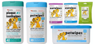 Petkin Pet wipes is the 10 best pet products for dogs and cats for safety, health, and fun
