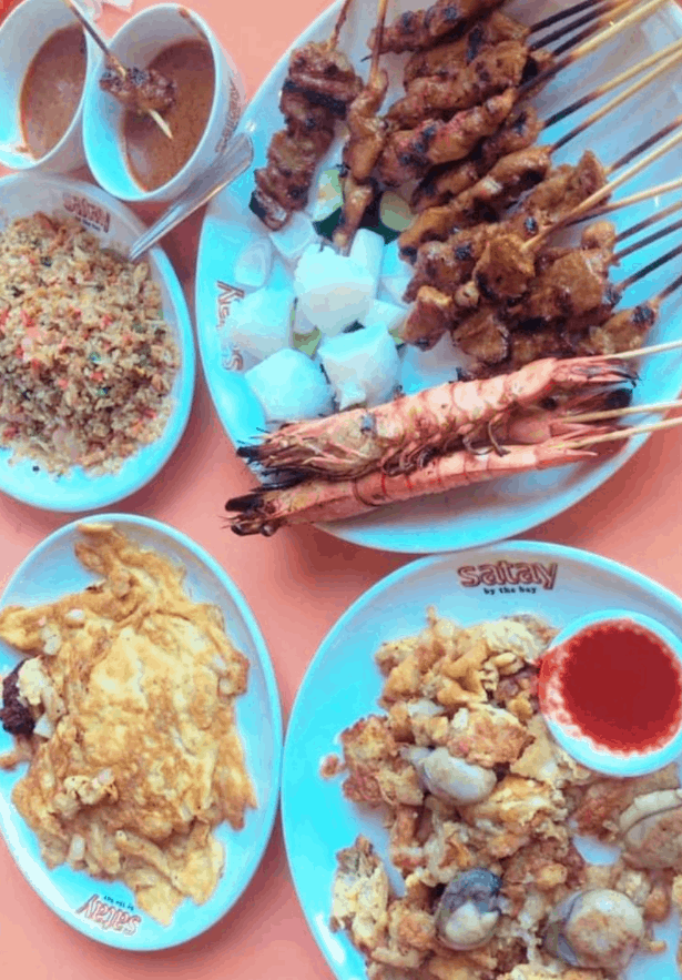 Satay by the Bay is 10 Best Hawker Centres in Singapore for Cheap Local food