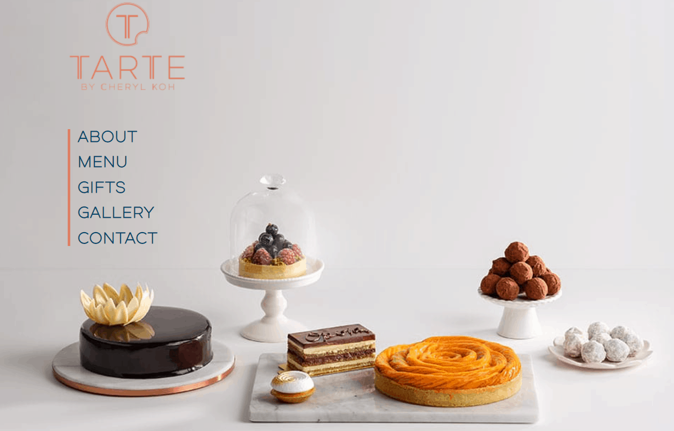 you can buy gift baskets in Singapore from Tarte by Cheryl Koh