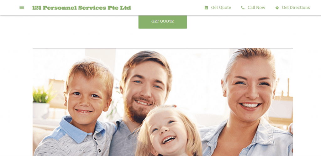 121 Personnel Services is 10 Best Maid Agencies in Singapore