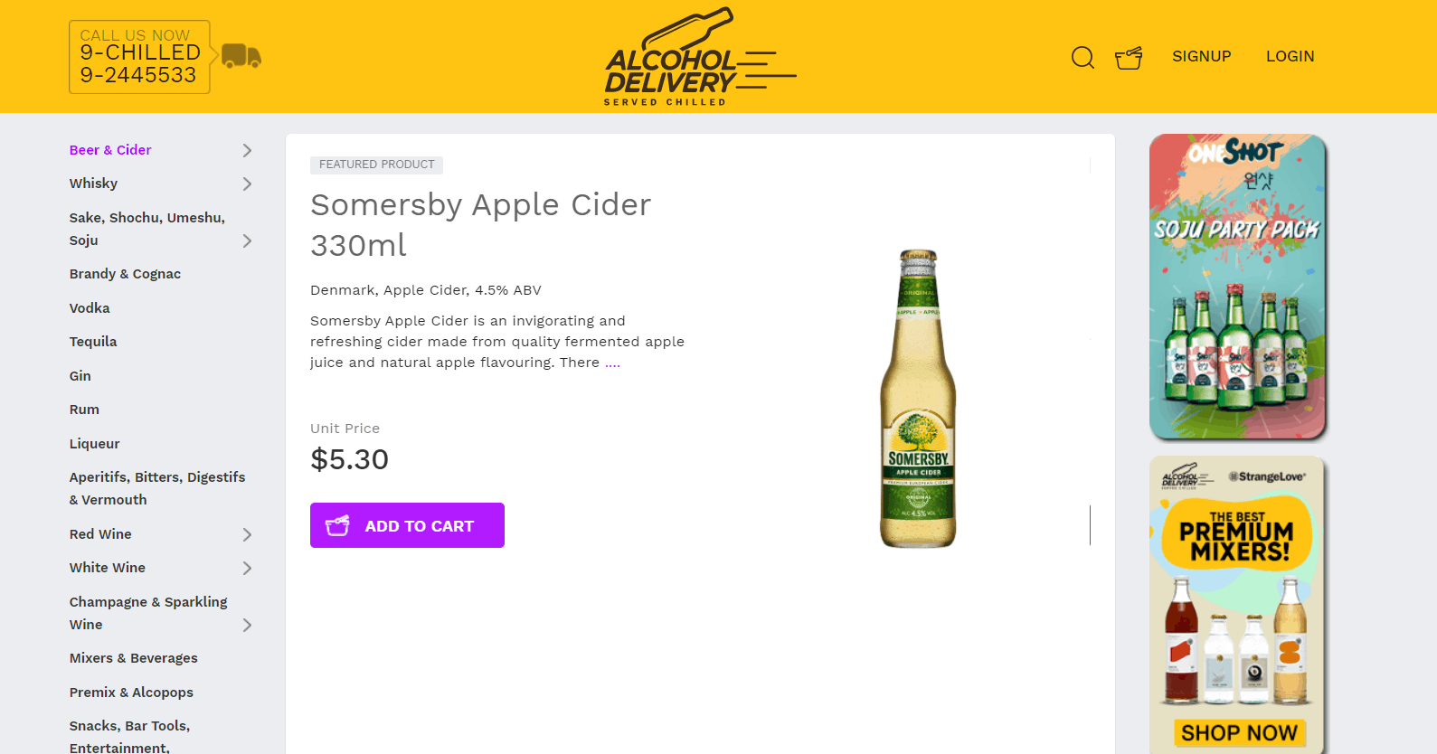 Alcohol Delivery SG is the cheapest place to buy alcohol in Singapore
