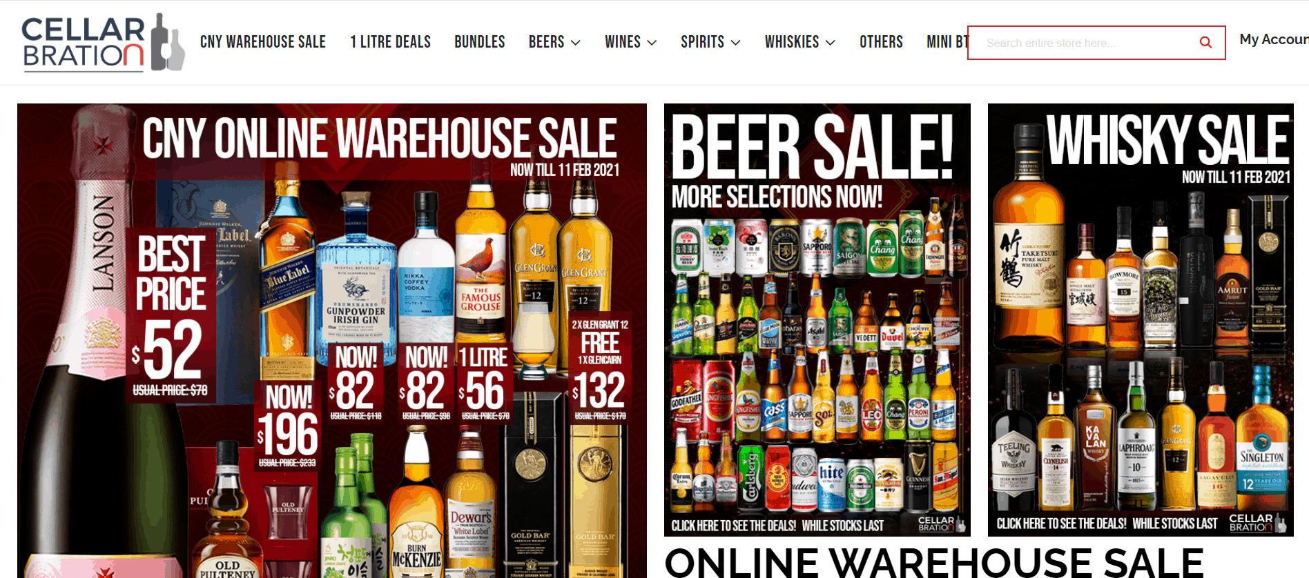 Cellarbration is an Alcohol gift delivery Singapore Online