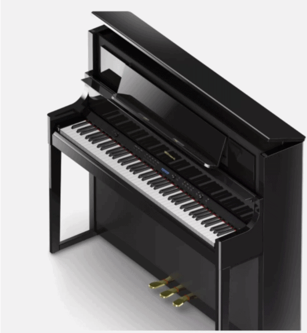 Flagship Roland LX708 Luxury Premium Upright Digital Piano. Which digital piano is best for beginners?