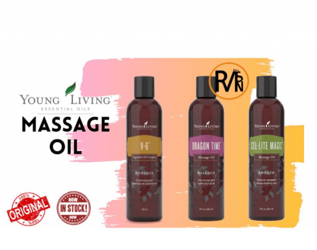 Young Living V6 Vegetable Massage Oil is the best massage oil in Singapore for relaxation spa treatment at home