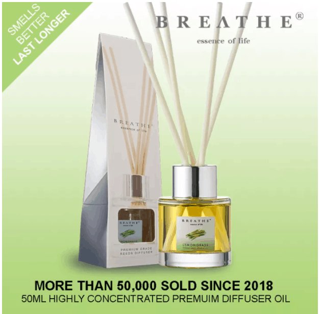 Lemongrass Reeds Diffuser is 40 Cheap Things to Buy on Amazon for Under $10