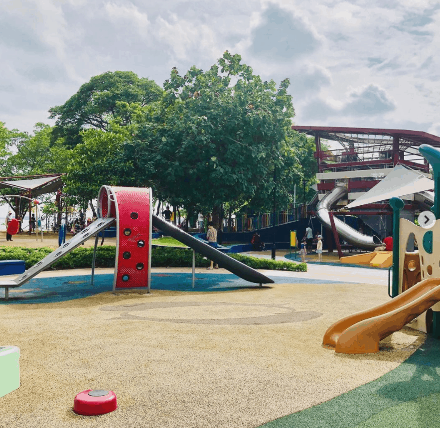 Marine Cove Playground is safe and awesome Playgrounds in Singapore - best free-to-access- outdoor play.