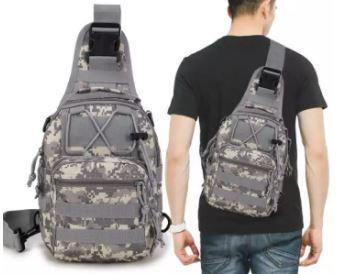 MicroBang Tactical Sling Bag is popular Crossbody bag men Singapore
