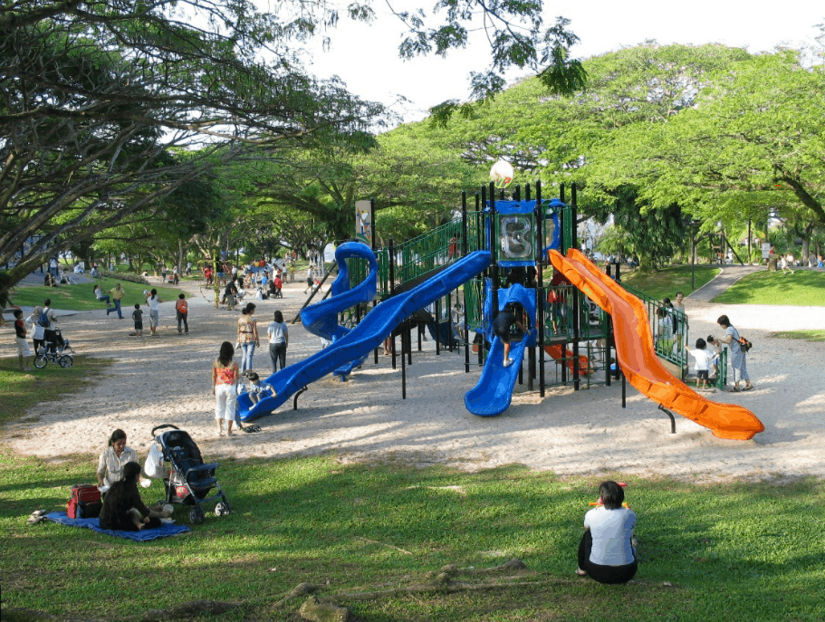 Pasir Ris Park Playground is The best outdoor playgrounds in Singapore