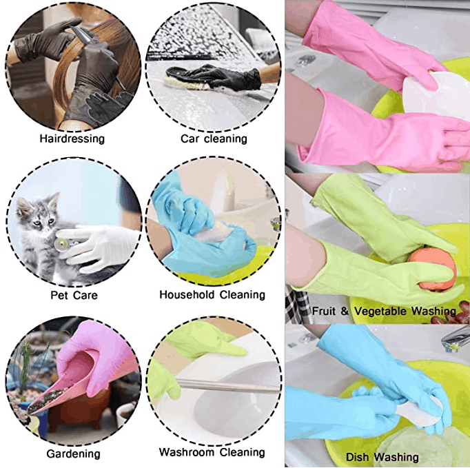 Reusable Latex Gloves, Waterproof is 20 Things You'll Need for Your New Home