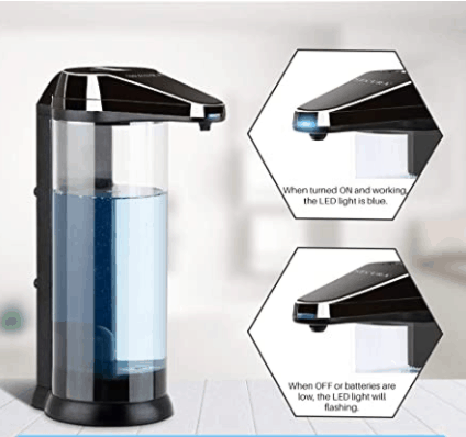 Secura Premium Touchless Battery-Operated Automatic Soap Dispenser Best Automatic Soap Dispensers 2021 2022 2023